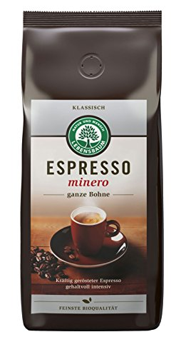 Lebensbaum Espresso Minero, Bohne, 1er Pack (1 x 1 kg) - Bio