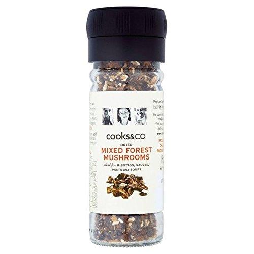 Cooks & Co Getrocknete Gemischte Pilze Winkelschleifer 19g (Packung von 6)