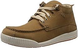 Woodland Mens Camel Nubuck Leather Boots - 6 UK/India (40 EU)