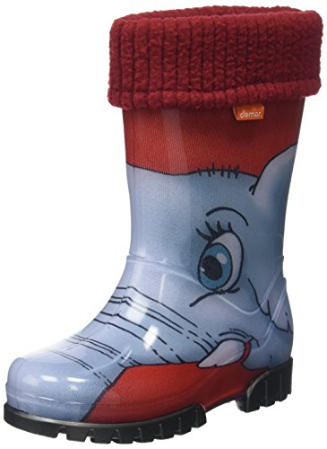 Toughees Shoes Unisex Kids' Character Welly With Removable Sock Rain Boots