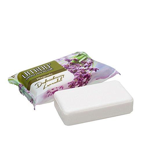 UMIDO Seife 80 g Lavendel - Hand-Seife - Waschstück - Seifenstück für ihre Körperpflege - Festseife - 1 x 80 g (4.)