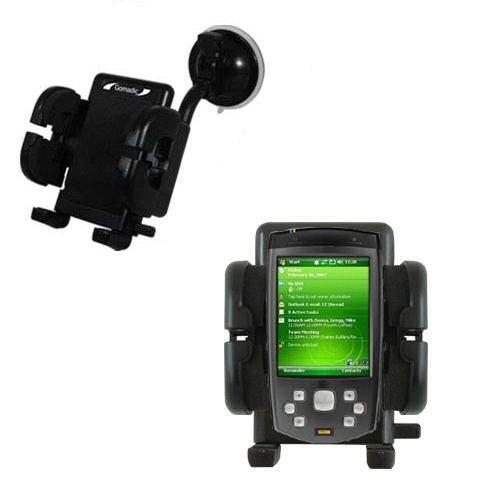 HTC P6500 Windschutzscheibenhalterung für KFZ / Auto - Cradle-Halter mit flexibler Saughalterung für Fahrzeuge