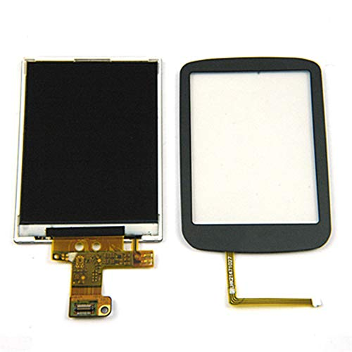 HibiscusElla Complete OEM LCD Screen Digitizer Lens Touch in Blue for Black Berry Curve 8900-002 2 Oem Blackberry