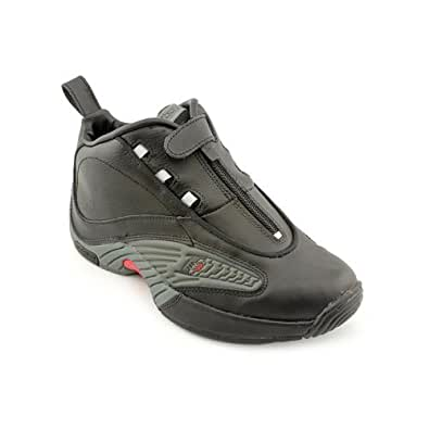 Reebok  Answer IV, Chaussures de basket-ball pour homme Noir Black/Rivet Grey/Red 39.5