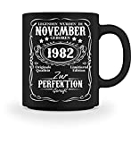 Shirtee Legenden November Geburtstag 1982 - Tasse