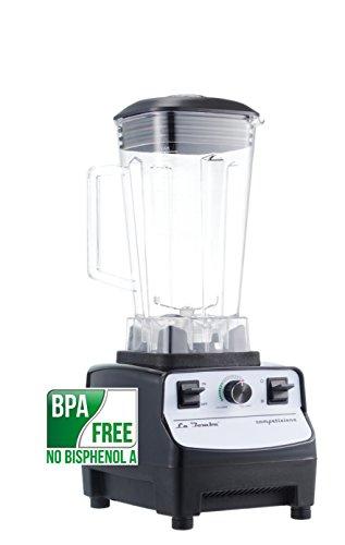 Mixer La Bomba® Competizione II, Profi Hochleistungsmixer, Smoothiemaker, Ice Crusher, nero/bianco, 38000 rpm