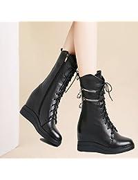 85bffd63ffe97f KHSKX-Martin Stiefel Kinder Schuhe Im Winter Und Herbst Flache Schuhe  Winterschuhe Mid - Stiefel Die Ferse Stiefel…