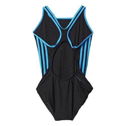 adidas Damen Badeanzug INFinitex 3-Stripes Schwarz/Blau