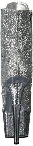 Pleaser ADORE-1020G Slv Glitter/Slv Glitter