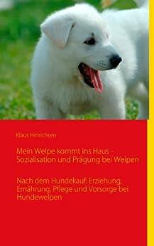 Mein Welpe kommt ins Haus - Sozialisation und Prägung bei Welpen: Nach dem Hundekauf: Erziehung, Ernährung, Pflege und Vorsorge bei Hundewelpen von [Hinrichsen, Klaus]