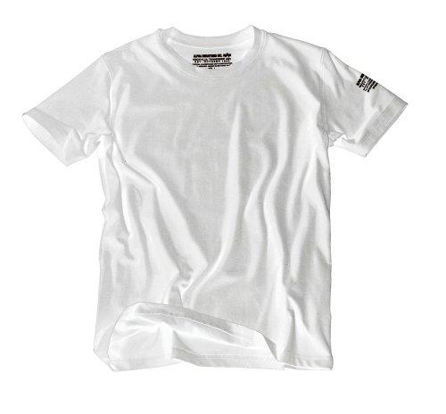 Alpha Industries Herren T-Shirt Bodywear camouflage White