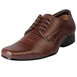 Bata Mens Tan Formal Lace Up 851-4625-43