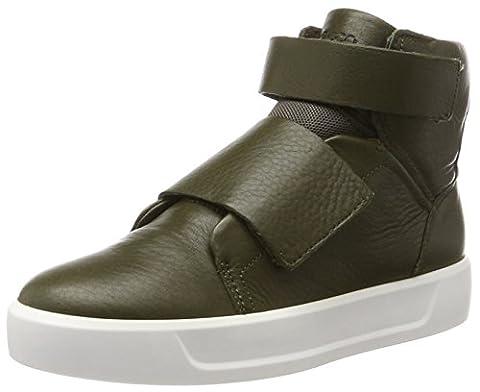 Ecco Unisex-Kinder S8 Hohe Sneaker, Grün (Grape Leaf), 36 EU