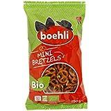 Boehli Sachet 150g Mini Bretzels Bio Pack de 9