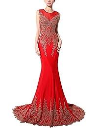 Bbonlinedress Vestido De Estilo Sirena Elegante Largo Para Fiesta Ceremonia