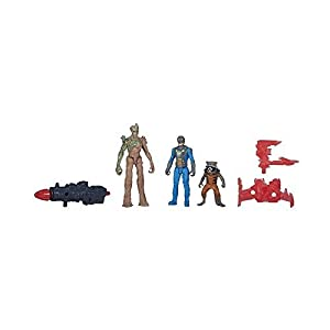Guardians Of The Galaxy - 2-Pack Peter Quill (Star-Lord) + Gamora 7cm