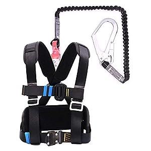 Kits de Arnés de Seguridad, Anticaida Arnes De Seguridad, Trabajo Aéreo, Electricista, Exteriores, Construcción, Prevención de Caídas, Cuerda elástica