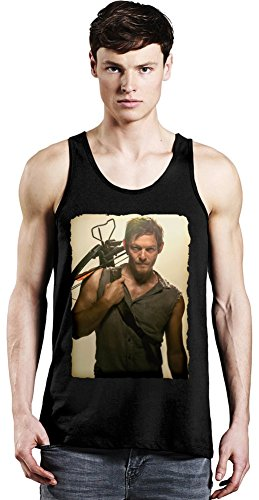 Movie Stars Merchandise Norman Reedus Archer - Norman Reedus Archer Unisex Tank Top T-Shirt Men Women Stylish Fashion Fit Custom Apparel by Small