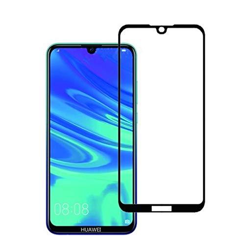 Diman [2 Stück Panzerglas kompatibel mit Huawei Y5 2019, Full-Screen Bildschirmschutzfolie 9H Hartglas Ultra-Klar Panzerglas Schutzfolie für Huawei Y5 2019, Schwarz