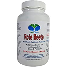 Rote Beete, 120 Pulver-Kapseln a 500mg, #25325