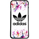 Funda carcasa para móvil logotipo adidas flores logo compatible con Samsung Galaxy S5