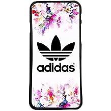 Funda carcasa para móvil logotipo adidas flores logo compatible con Samsung Galaxy Note 4