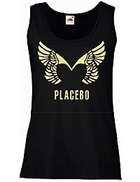 """Tank Top Damen """"Placebo"""" - 100% Baumwolle LaMAGLIERIA"""