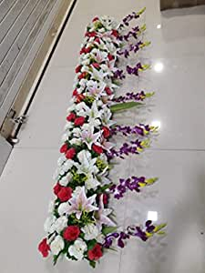 Buy Blossom Deco Artificial Flower For Ganpati Decoration 6 Ft Online At Low Prices In India Amazon In