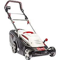 AL-KO Elektro-Rasenmäher 40 E Comfort, 40 cm Schnittbreite, 1.400 W Motorleistung, für Rasenflächen bis 600 m², Schnitthöhe 6-fach verstellbar, inkl. Mulchkeil, inkl. 43 l Fangkorb mit Füllstandsanzeige