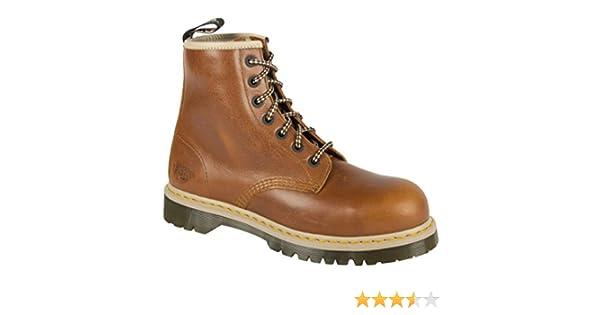 52b45fcd7cd Dr. Martens DM Docs Icon 7B10 Tan Steel Toe Cap 7 Eyelet Heavy Duty Safety  Boots