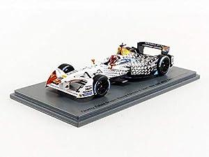 SPARK-Coche en Miniatura de colección, s5913, Negro/Blanco