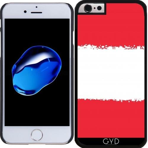 Coque pour Iphone 6 (4,7 '') - Autriche-drapeau De 8 Bits by Cadellin Plastique Rigide