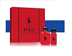 Ralph Lauren Polo Red Eau De Toilette (Set of 2) with Ayur Product in Combo