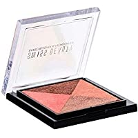 Swiss Beauty Baked Blusher & Highlighter, Face MakeUp, Multicolor-01, 7g
