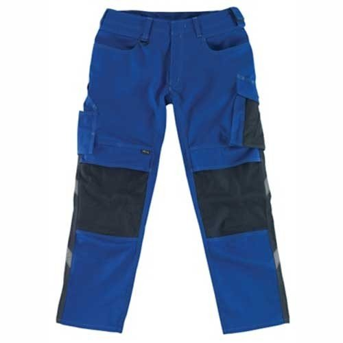 Preisvergleich Produktbild Mascot Arbeitshose Mannheim, 1 Stück, 82C50, kornblau / schwarz, 84-12679442-11010-82C50