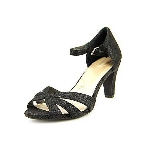 Giani Bernini Frannie Synthétique Sandales Black
