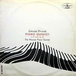Dvorak PIANO QUINTET in A major op.81 (A-dur) The Warsaw Quintet - Kwintet fortepianowy (MUZA Polskie Nagrania SXL 0639) [LP VINYL SCHALLPLATTE]