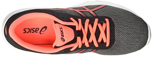 Asics Damen Nitrofuze Turnschuhe Grau (Carbon/flash Coral/black)