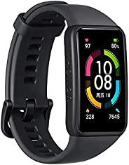 """Honor Band 6 SmartWatch Multiple Languages 1.47"""" AMOLED Display 14 Days Battery Blood Oxygen Heart Rate M"""