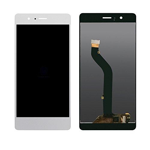 Huawei P9 lite Display im Komplettset LCD Ersatz Für Touchscreen Glas Reparatur (Weiß) -