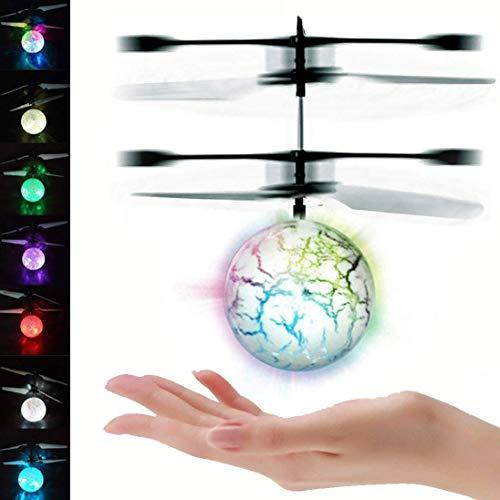 UTTORA Pelota voladora Flying Ball Crystal Intermitente