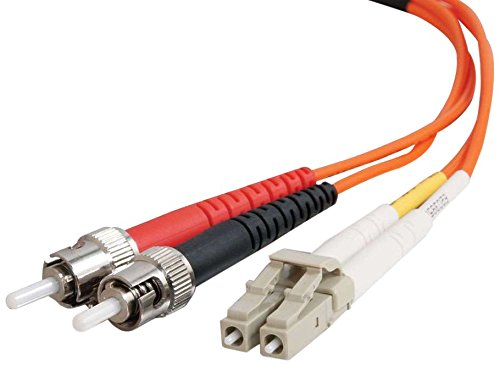 1 Meter Length 1 Meter Length Logilink FP4LT01 LC-ST OM4 50//125/µ Fiber Patch Cable