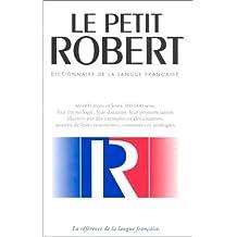 Petit Robert de la langue française