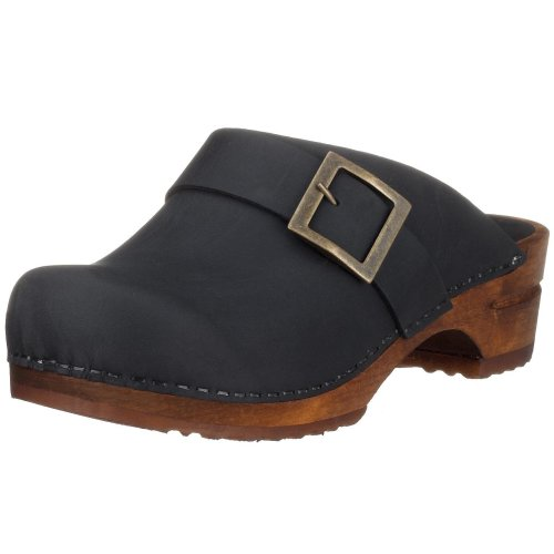 Sanita Damen Urban Open Clogs, Schwarz (Black 2), 38 EU