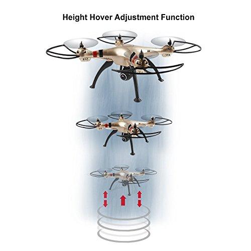 Syma X8HW (aggiornamento del popolare Syma X8W) 2.4GHz 6-Axis Gyro Wifi FPV con la macchina fotografica HD RC Quadcopter Drone (X8HW) - 3