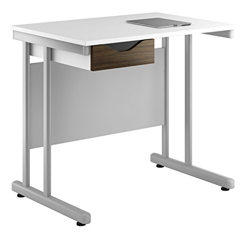 Kit Out My Office UCLIC Cantilever Desk Cupboard with Single Drawer, Metal, Dark Olive, 800 mm