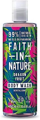 Faith In Nature Dragonfruit Body Wash, 400 ml