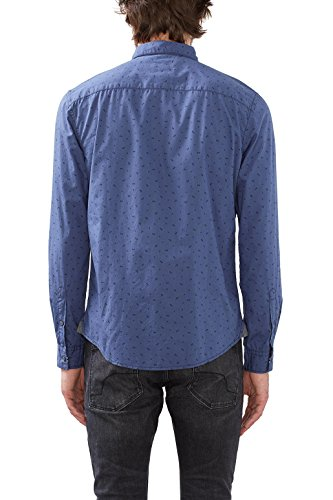 edc by Esprit 106cc2f006, Chemise Casual Homme Bleu (grey Blue 420)