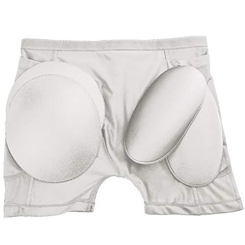 CICIYONER Damen Dessous Sexy Panties Damen Interieur Push Up Padded Fake Ass Unterwäsche Schritt M-4XL