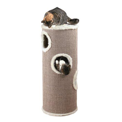 Trixie 4338 Cat Tower, ø 40 cm/100 cm, braun/beige - 2